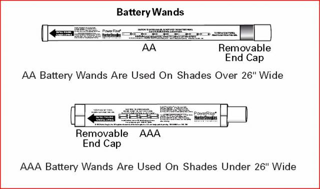 Hunter Douglas Powerrise 12v Dc Volt Reloadable Aa Battery Tube Wand Part Pcn2981097000 Automated Shade Online Store