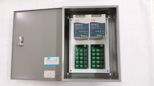 20 Motor 24v Dc X 40 Amp Power Panel Automated Shade