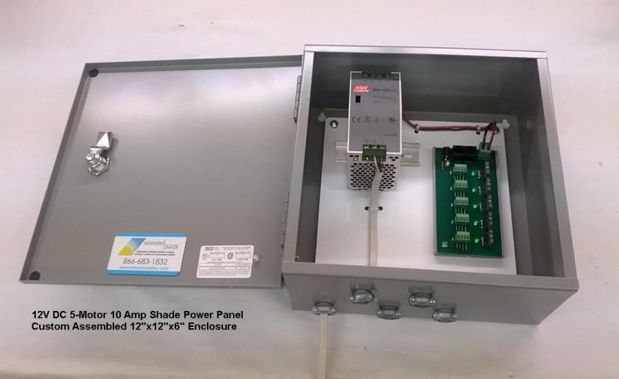 Somfy 5 Motor Power Distribution Control Board 1870193