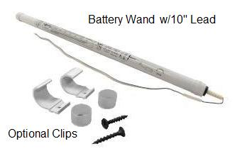 somfy 12v dc volt reloadable battery tube wand part 9014020 automated shade online store. Black Bedroom Furniture Sets. Home Design Ideas