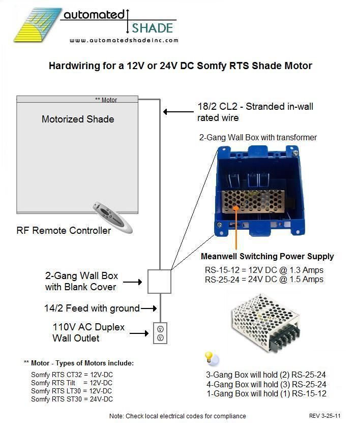meanwell rs 25 24 24v dc regulated and switching power supply hard wired 24vdc motor wiring example