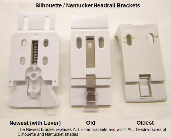 Hunter Douglas Silhouette Nantucket Installation Bracket