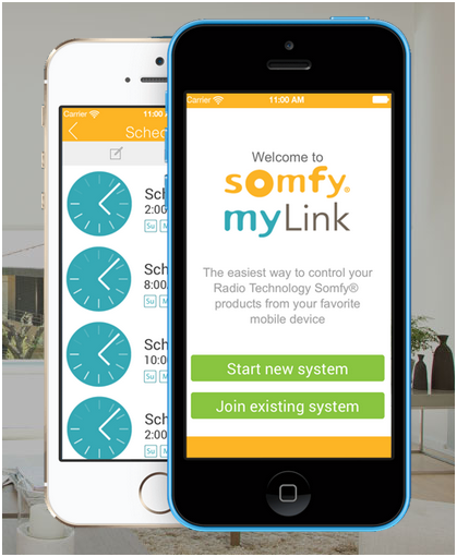 Somfy MyLink WiFi to RTS Interface Bridge Controller