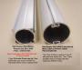 "Hunter Douglas Silhouette Rotator Rail Types for 2"" and 3"" Vane Styles"