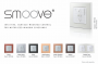 Somfy SMOOVE 1 RTS Pure Wall Switch #1811533
